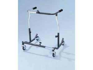 BARIATRIC SAFETY ROLLING WALKER BLACK