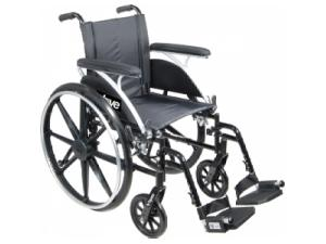 WHEELCHAIR LTWT DELUXE