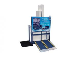 SHOW & STOW PORTABLE RAMP DISPLAY