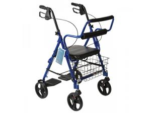 COMBINATION ROLLATOR & TRANSPORT WHEELCHAIR