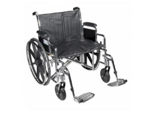 WHEELCHAIR STD DUAL-AXLE 22