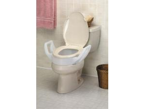 ELEVATED TOILET SEAT W/ARMS