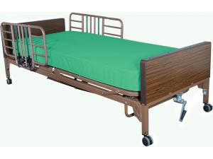 COMPLETE HOME CARE BED PKG W/INNERSPRING MATTRESS