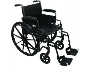 PROBASICS K2 WHEELCHAIR WITH SWING-AWAY FOOTRESTS
