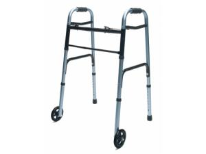 LUMEX ADULT WALKER WITH WHEELS