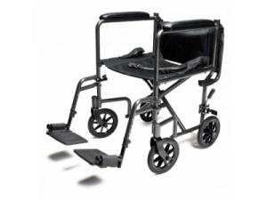 EVEREST & JENNINGS STEEL TRANSPORT CHAIR
