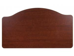 CENTER CROWN HEADBOARD AND FOOTBOARD