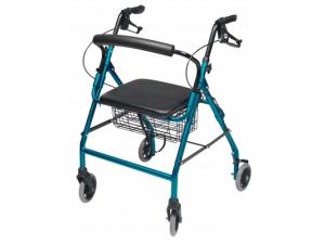 WALKABOUT WIDE FOUR-WHEEL ROLLATOR