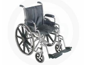 "18"" WHEELCHAIR WITH REMOVABLE DESK ARMS"