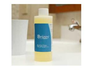 BRIGGS® ALCOHOL FREE MOUTHWASH, 4 OZ