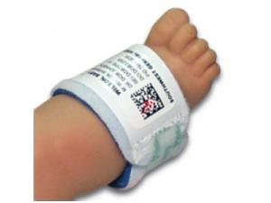 FOAM ID BANDS WITH DIRECT THERMAL LABELS, PREEMIE