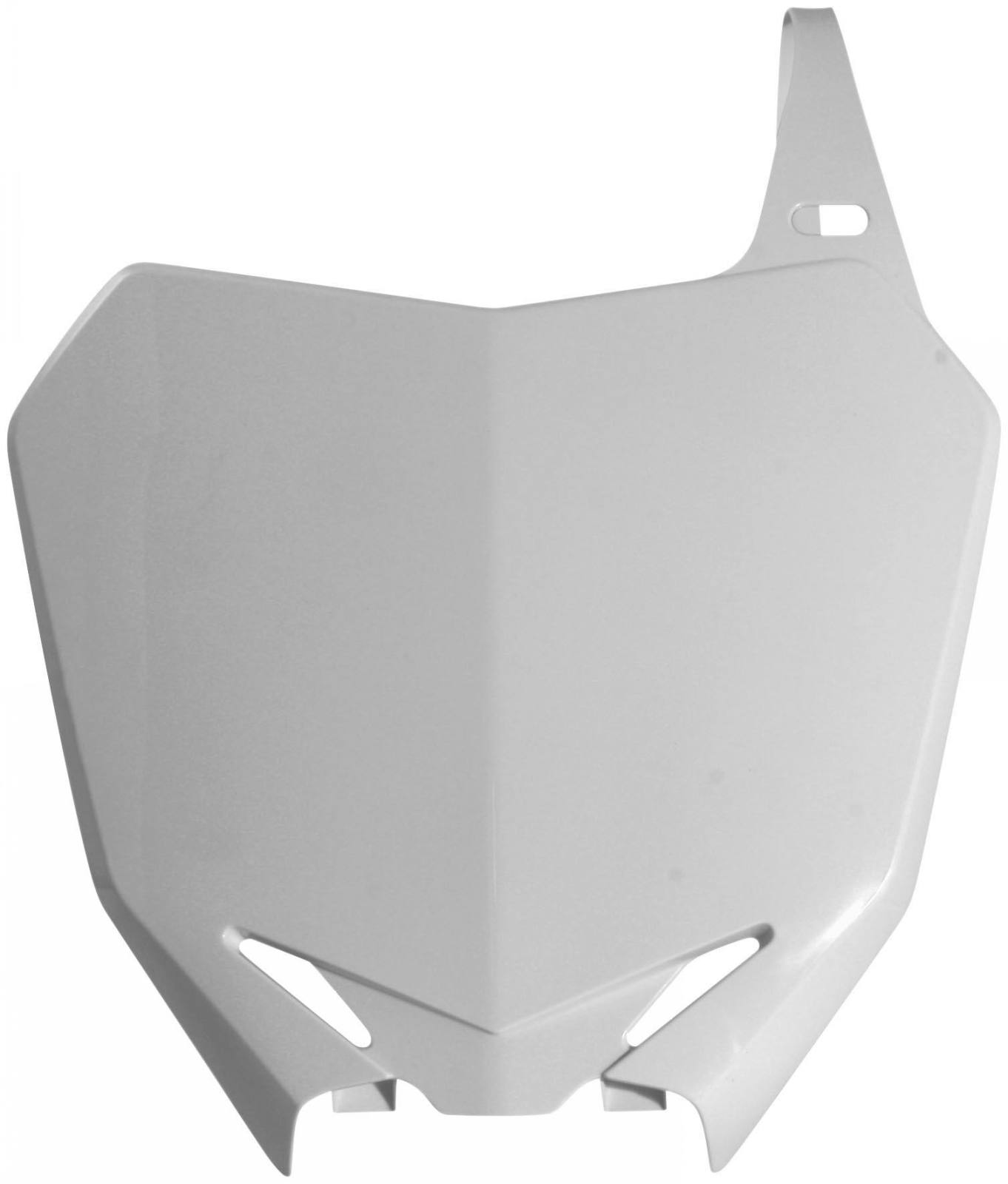 Acerbis Front Number Plate White for Suzuki DR-Z 110 2003-2005