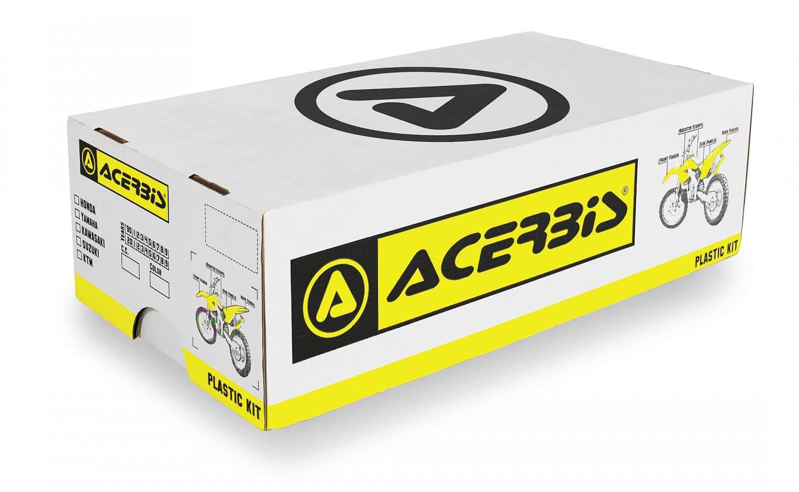 Plastic Kit Acerbis Black 2070970001 for Honda CR125R 2002-2003 CR250R