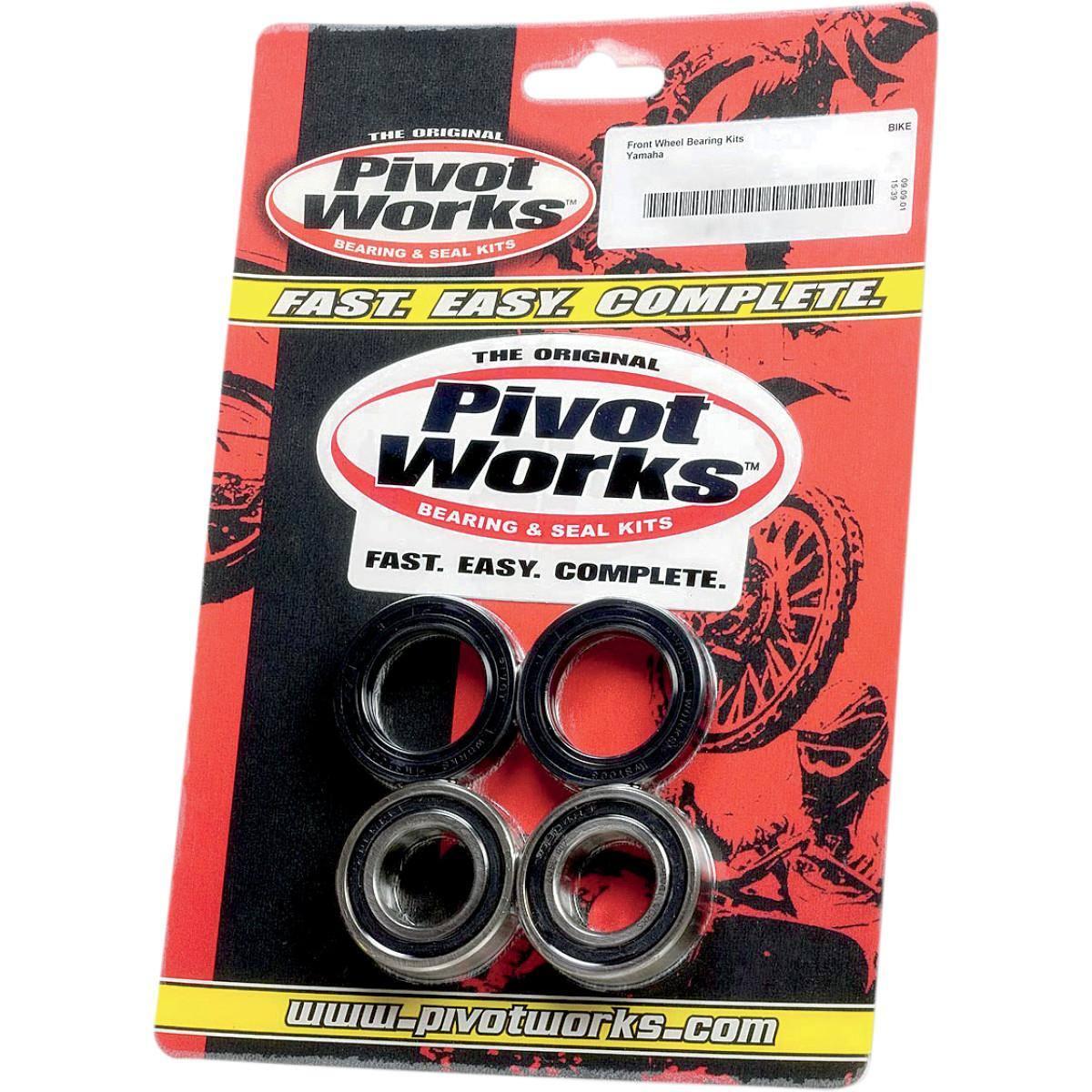 Pivot Works Rear Wheel Bearing Kit for Yamaha Stratoliner XV1900 2006-2009