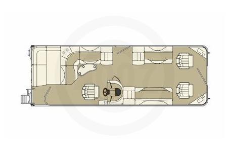 2007 Bennington boat for sale, model of the boat is 2577RFS & Image # 12 of 12
