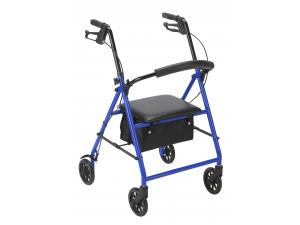 "STEEL ROLLATOR WITH 6"" WHEELS"