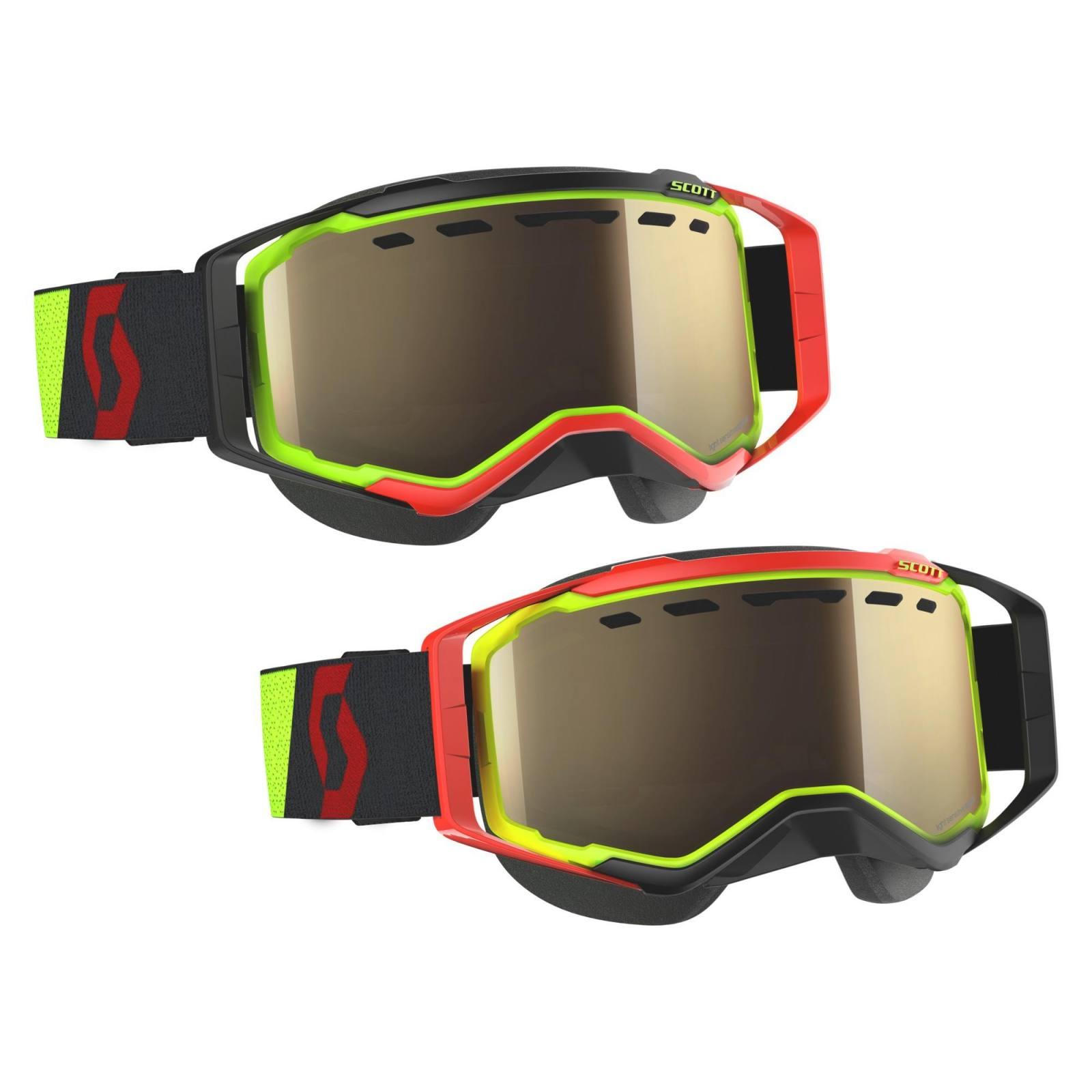 Scott USA Prospect Snow Cross Goggles Black//White w//Clear Lens 262581-1007043