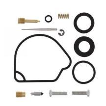 RK Racing Chain 2022-058ZB Black Aluminum Rear Sprocket and 520MXZ4 Chain Race Kit