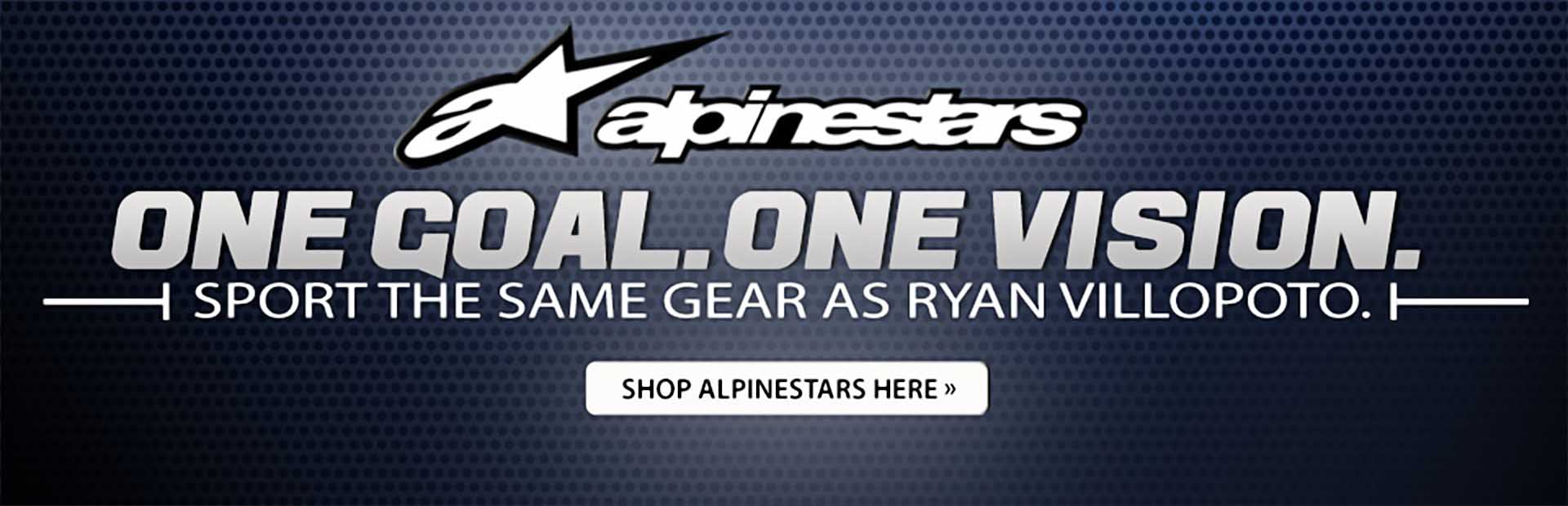 Alpinestars: One goal, one vision. Sport the same gear as Levi Sherwood. Click here to shop for Alpinestars products.