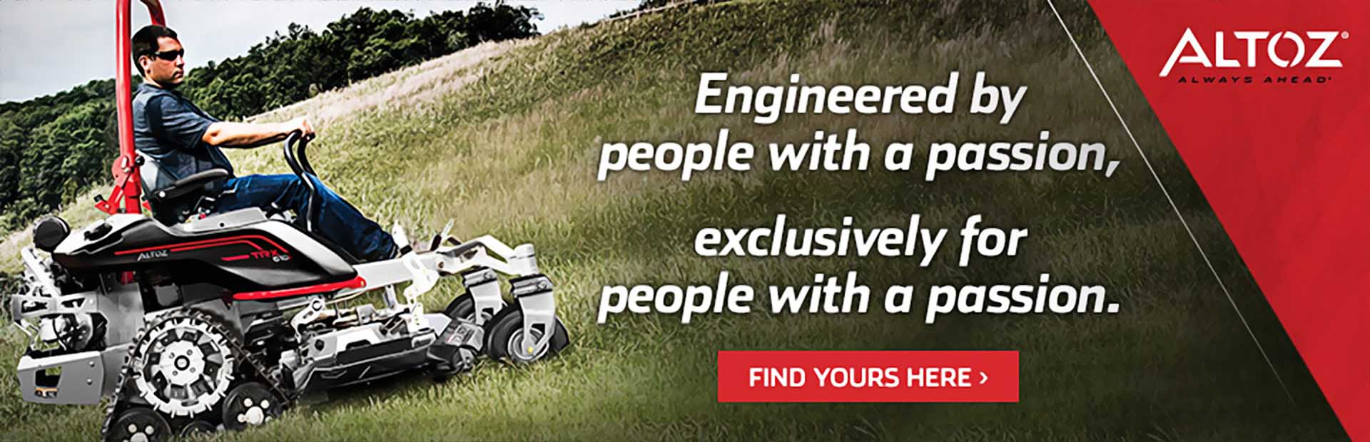 Altoz Mowers: Click here to view the models.