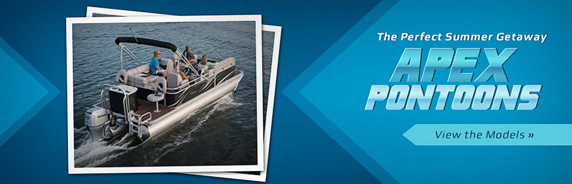 Apex Pontoons: Click here to view the models.