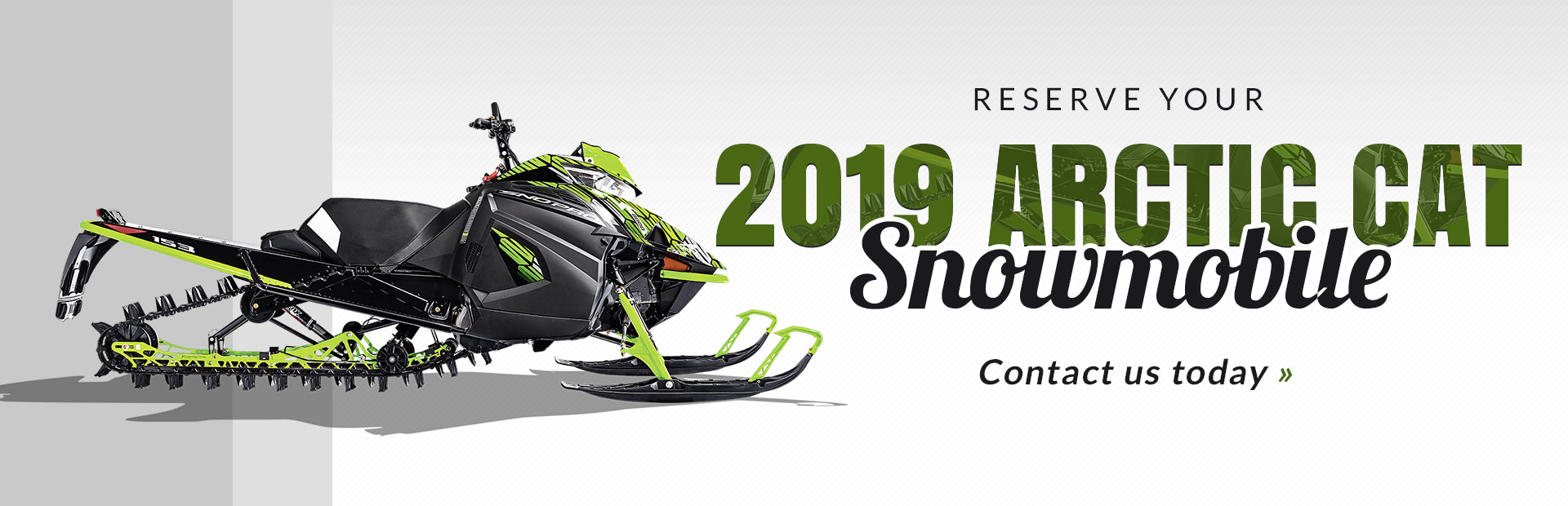 Reserve Your 2019 Arctic Cat Snowmobile