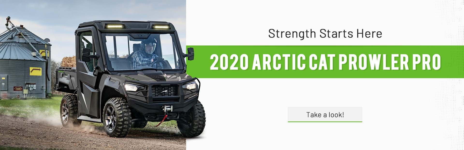 2020 Arctic Cat Prowler Pro: Click here to see the models.