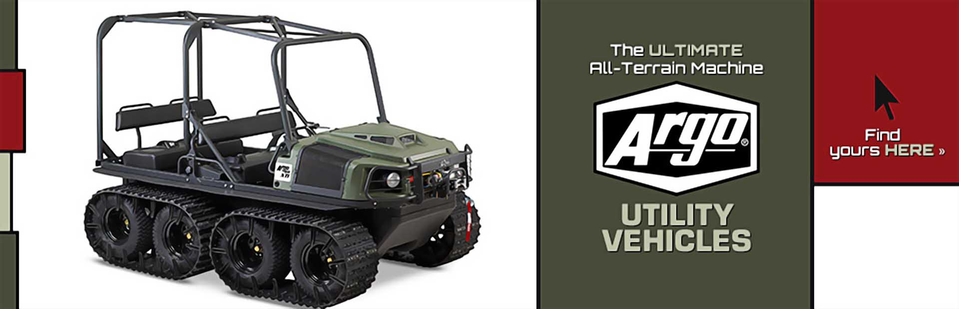 ARGO Utility Vehicles: Click here to view our selection!