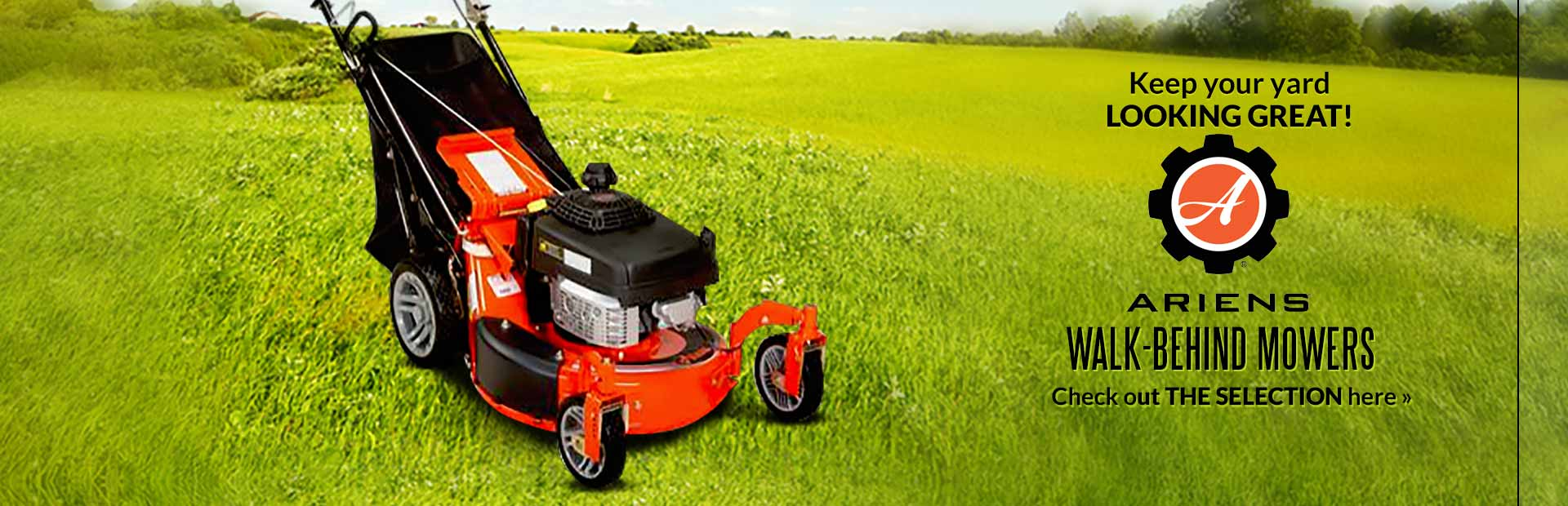 Ariens Walk-Behind Mowers: Click here to view our selection.
