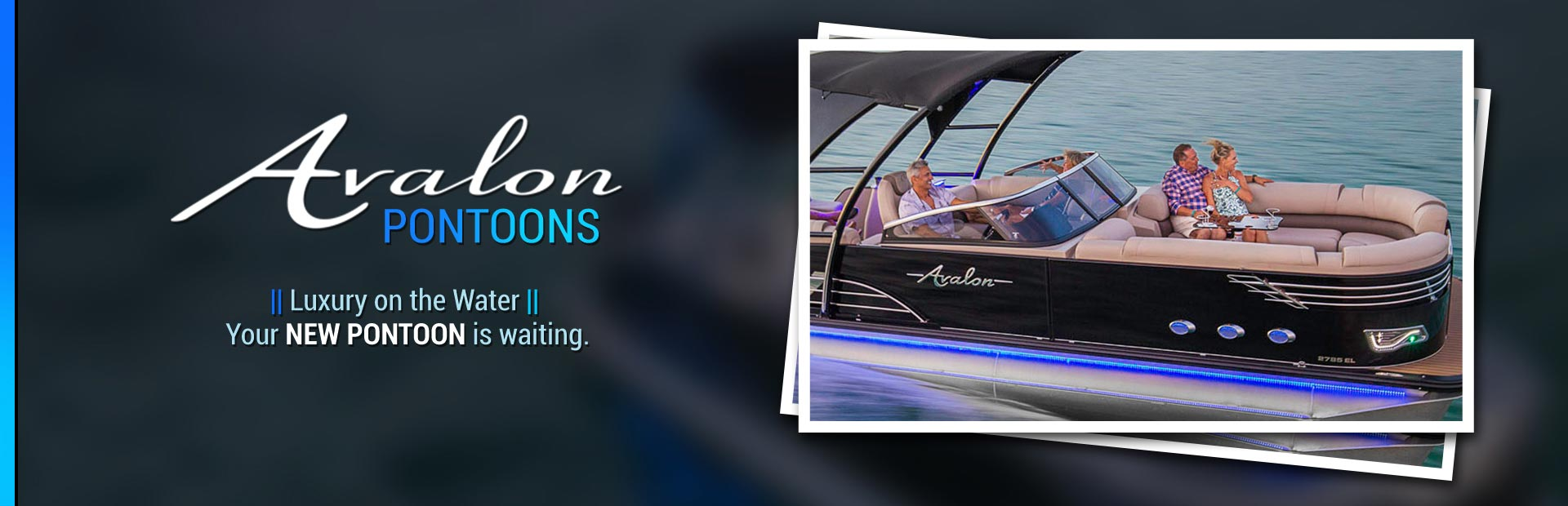 Avalon Pontoons: Click here to browse the models.