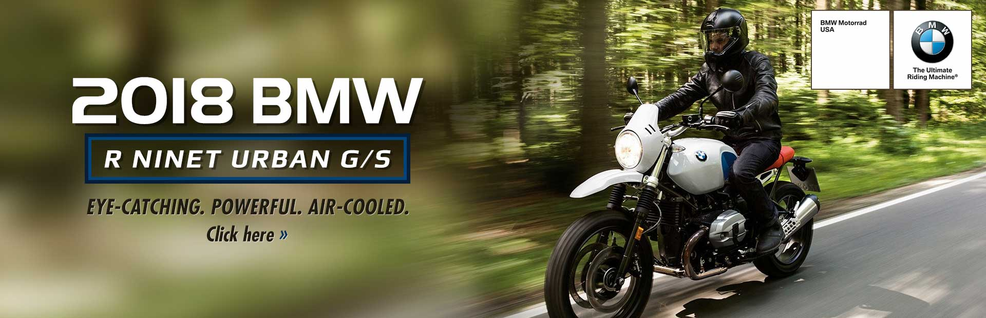 2018 BMW R nineT Urban G/S: Click here for details!