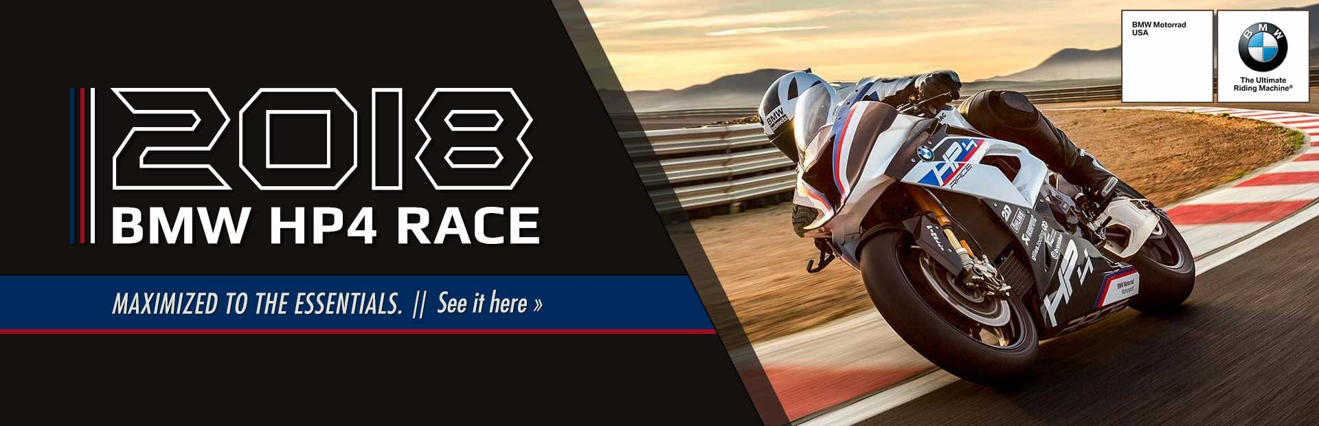 The 2018 BMW HP4 Race: Click here for details.