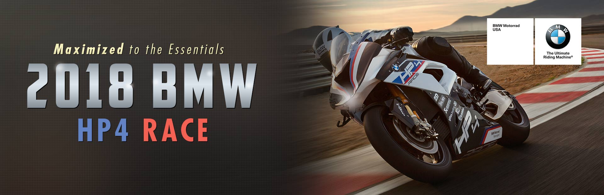 2018 BMW HP4 RACE: Click here to view the model.