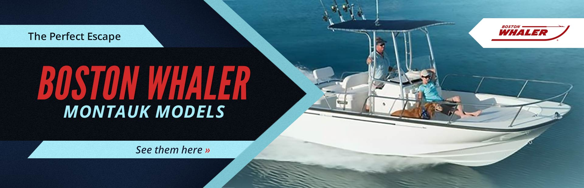 Boston Whaler Montauk Models: Click here to view the lineup.