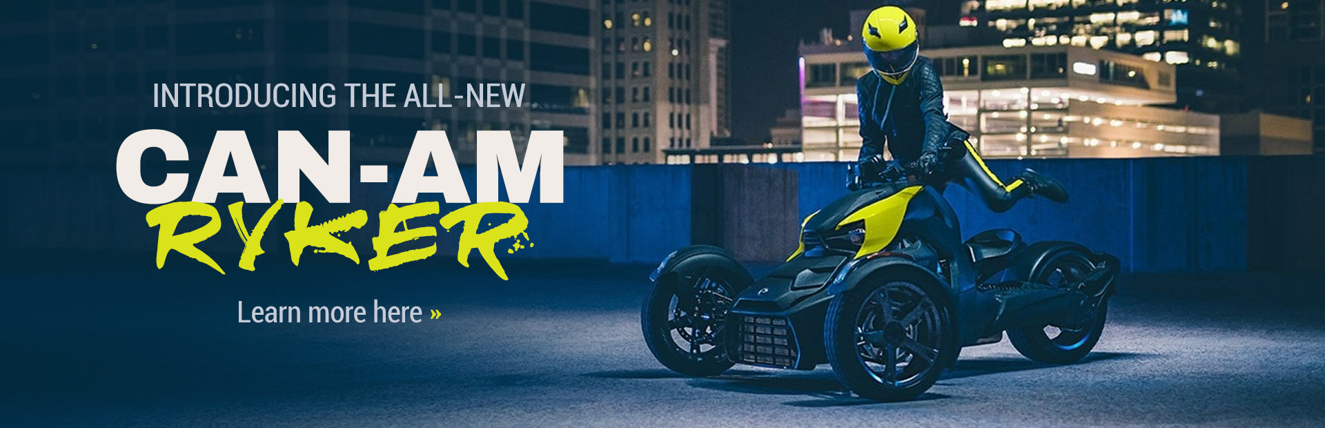 Introducing the All-New Can-Am Ryker