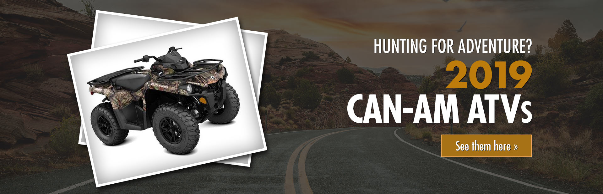 2019 Can-Am ATVs: Click here to view the inventory.