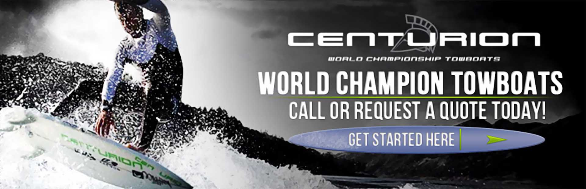 Click here to view world champion towboats from Centurion.
