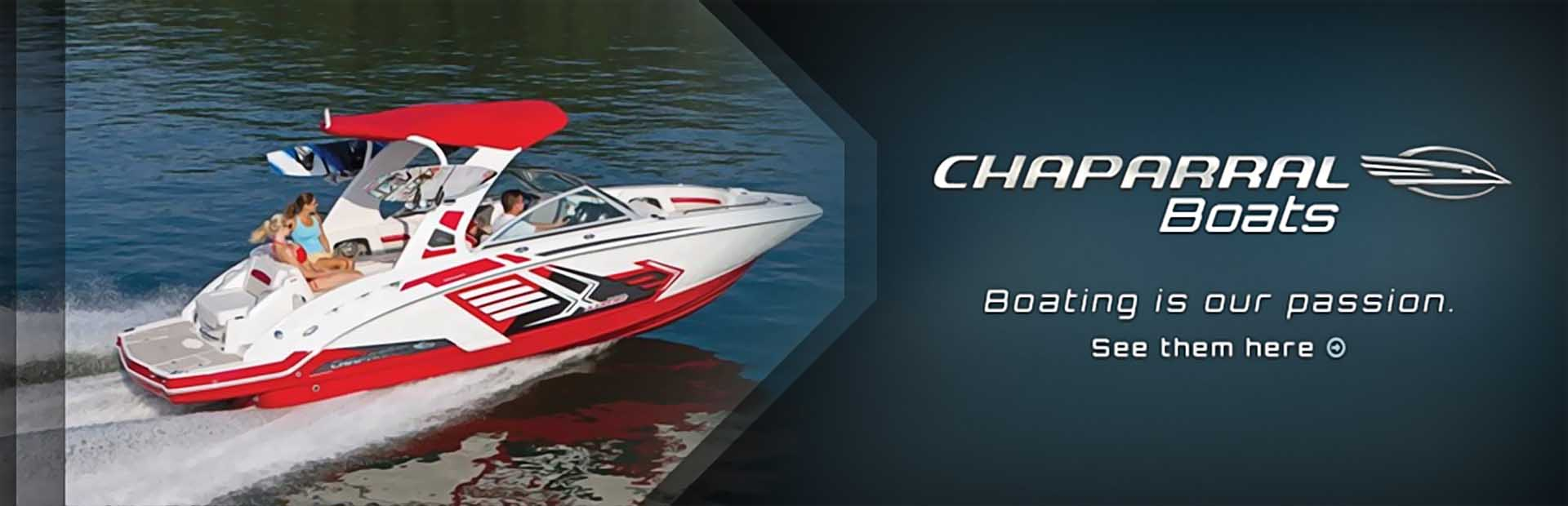 Chaparral Boats: Click here to view the lineup.
