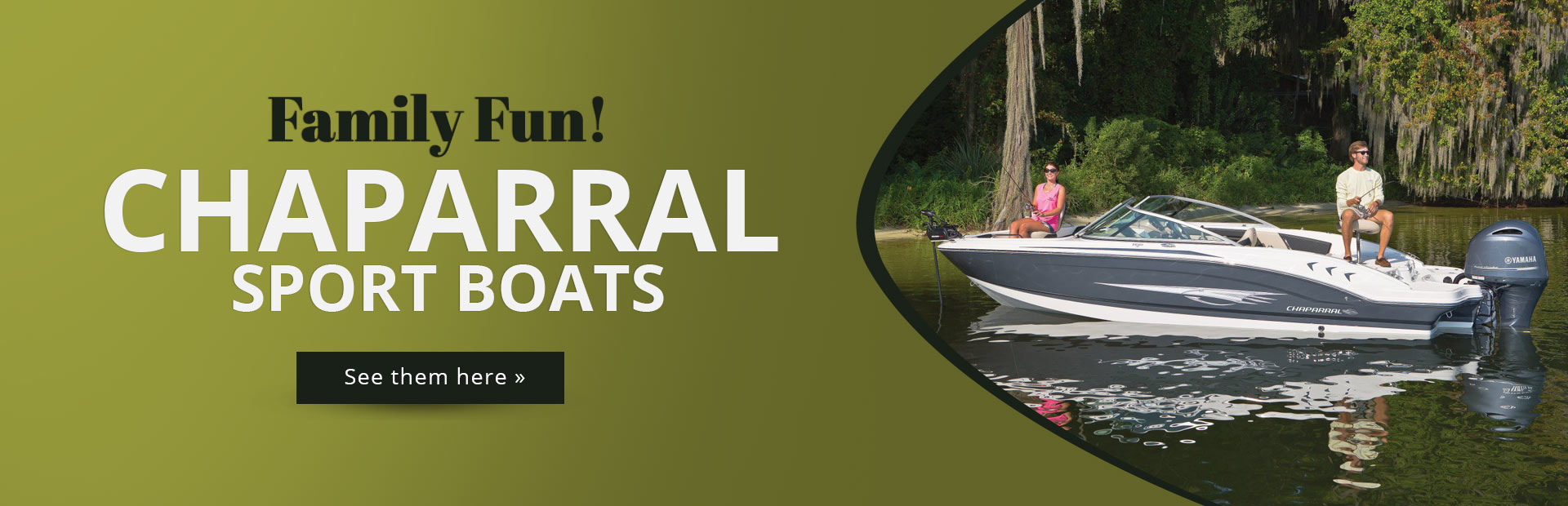 Chaparral Sport Boats: Click here to view the models.