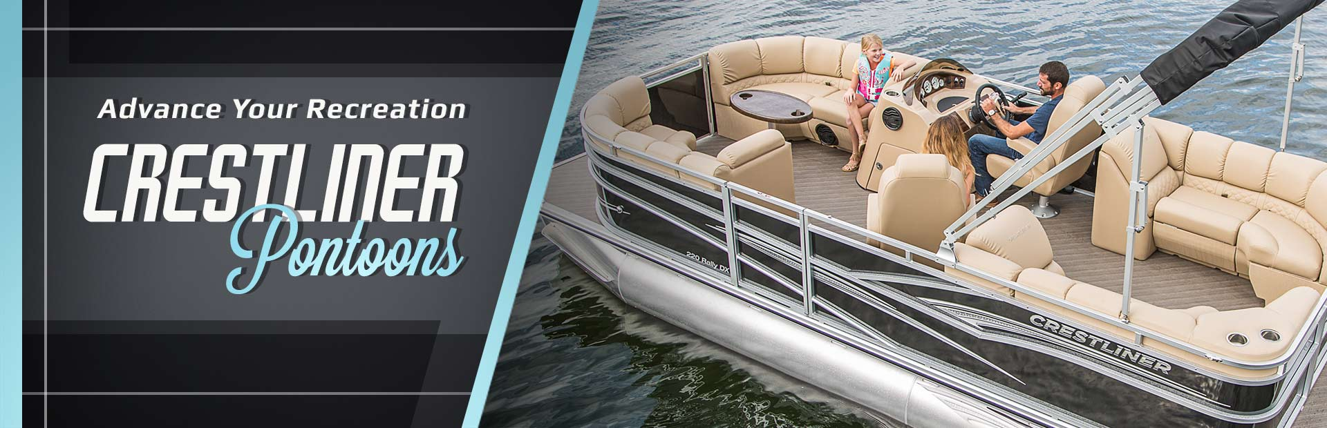 Crestliner Pontoons: Click here to view the models.