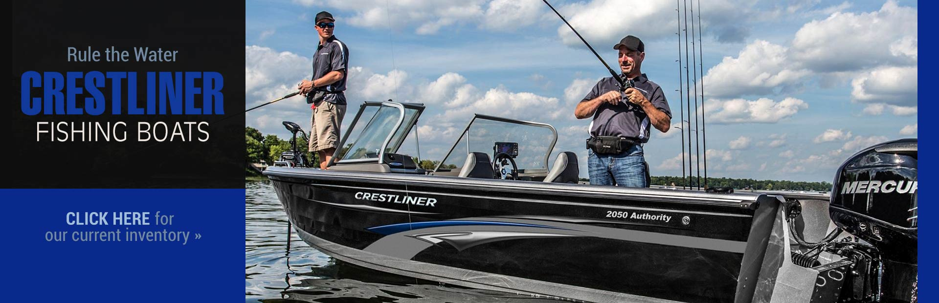 Crestliner Fishing Boats: Click here to browse the models.