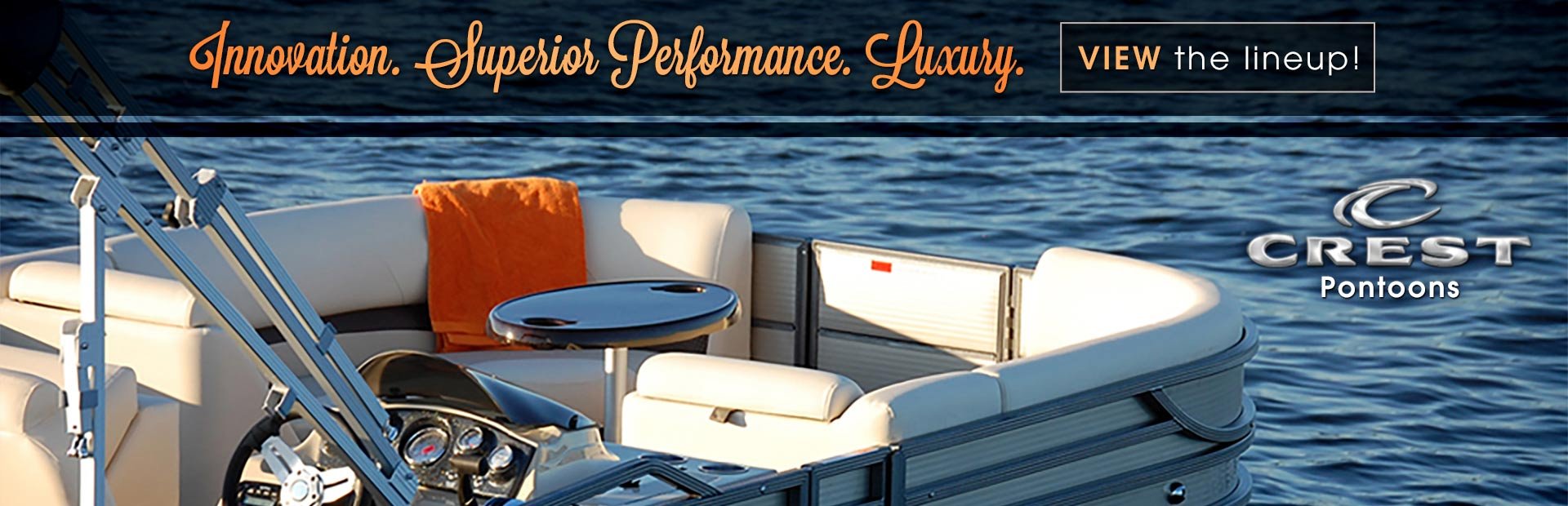 Crest Pontoons: Click here to view the lineup.