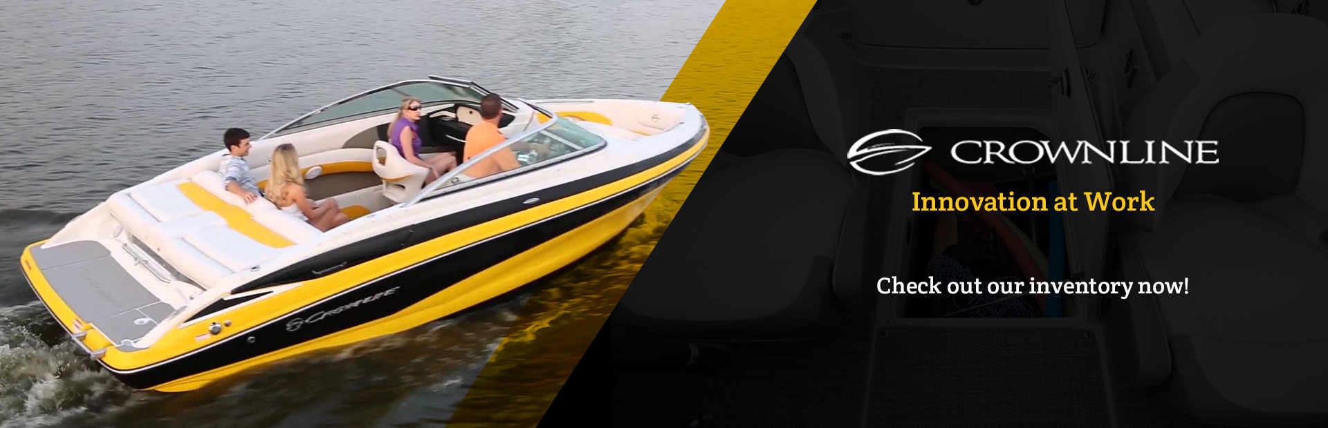 See the selection of Crownline Boats