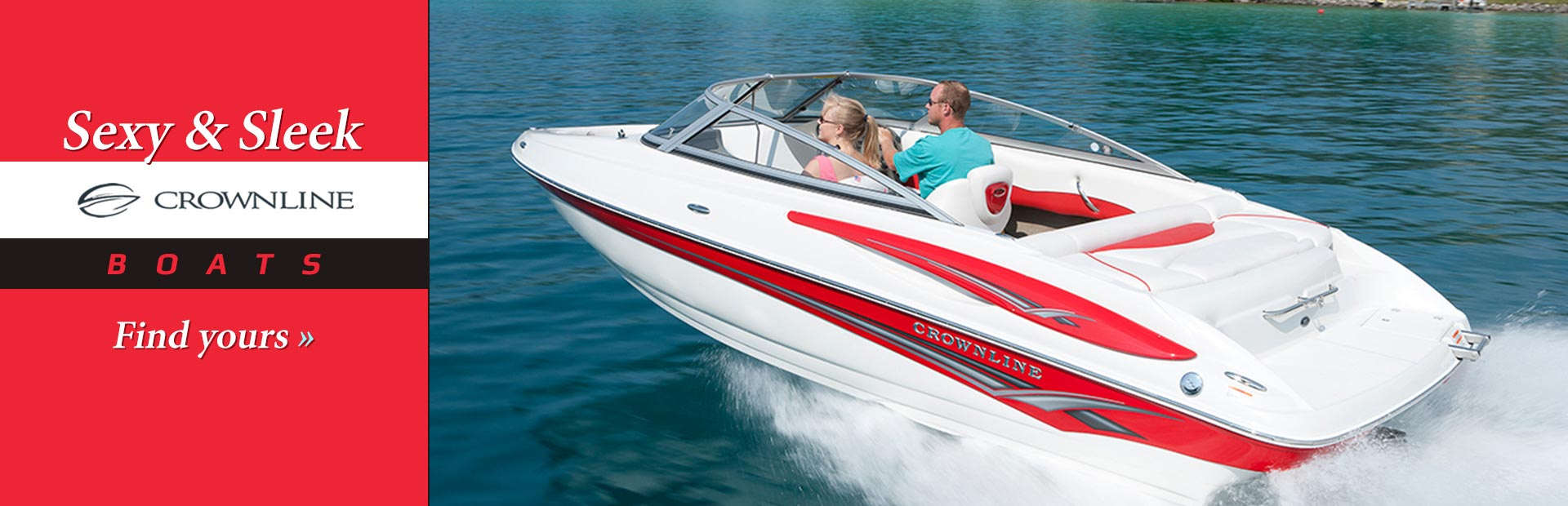 Crownline Boats: Click here to view the models.