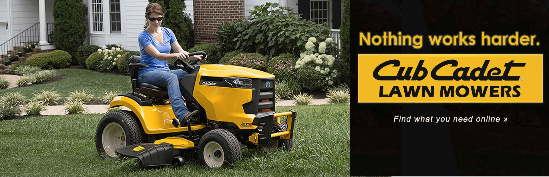 Cub Cadet Lawn Mowers: Click here to view the models.