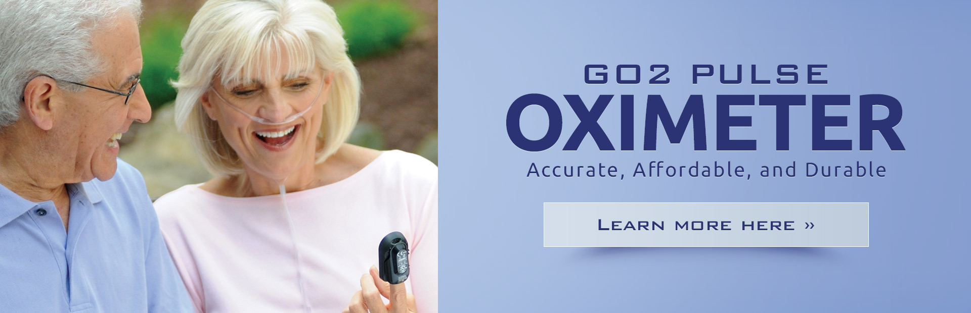 GO2 Pulse Oximeter: Click here to learn more.