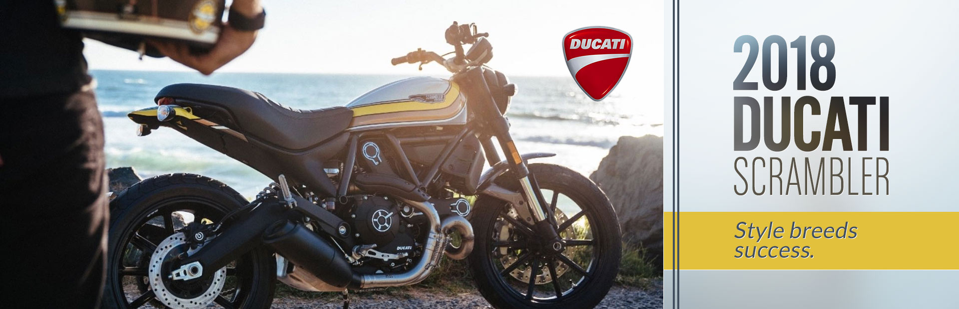 2018 Ducati Scrambler: Click here to view the models.