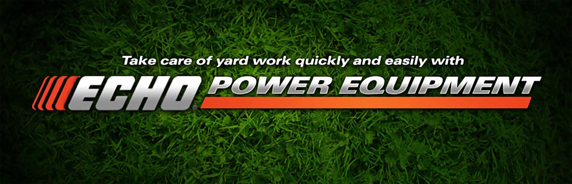 Click here to view ECHO power equipment.