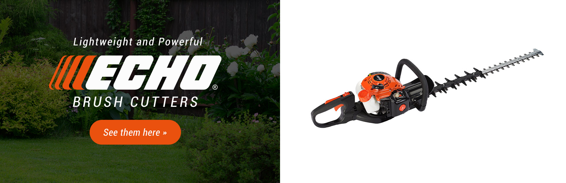 ECHO Brush Cutters: Click here to see the models.