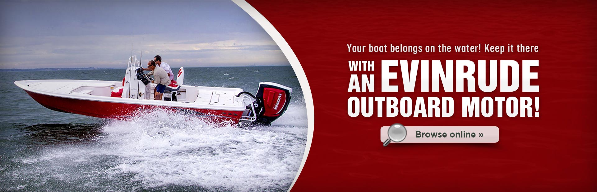 Click here to browse our selection of Evinrude outboard motors!